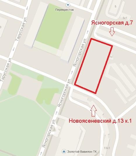 стройка Ясногорская 7