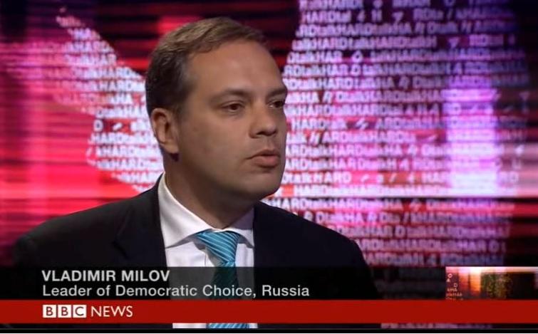 Vladimir Milov BBC Hardtalk