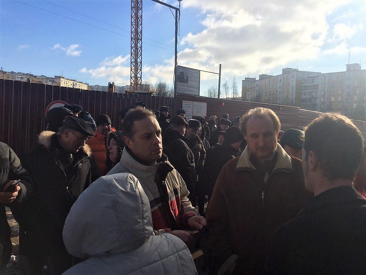 Владимир Милов народный сход Ясенево