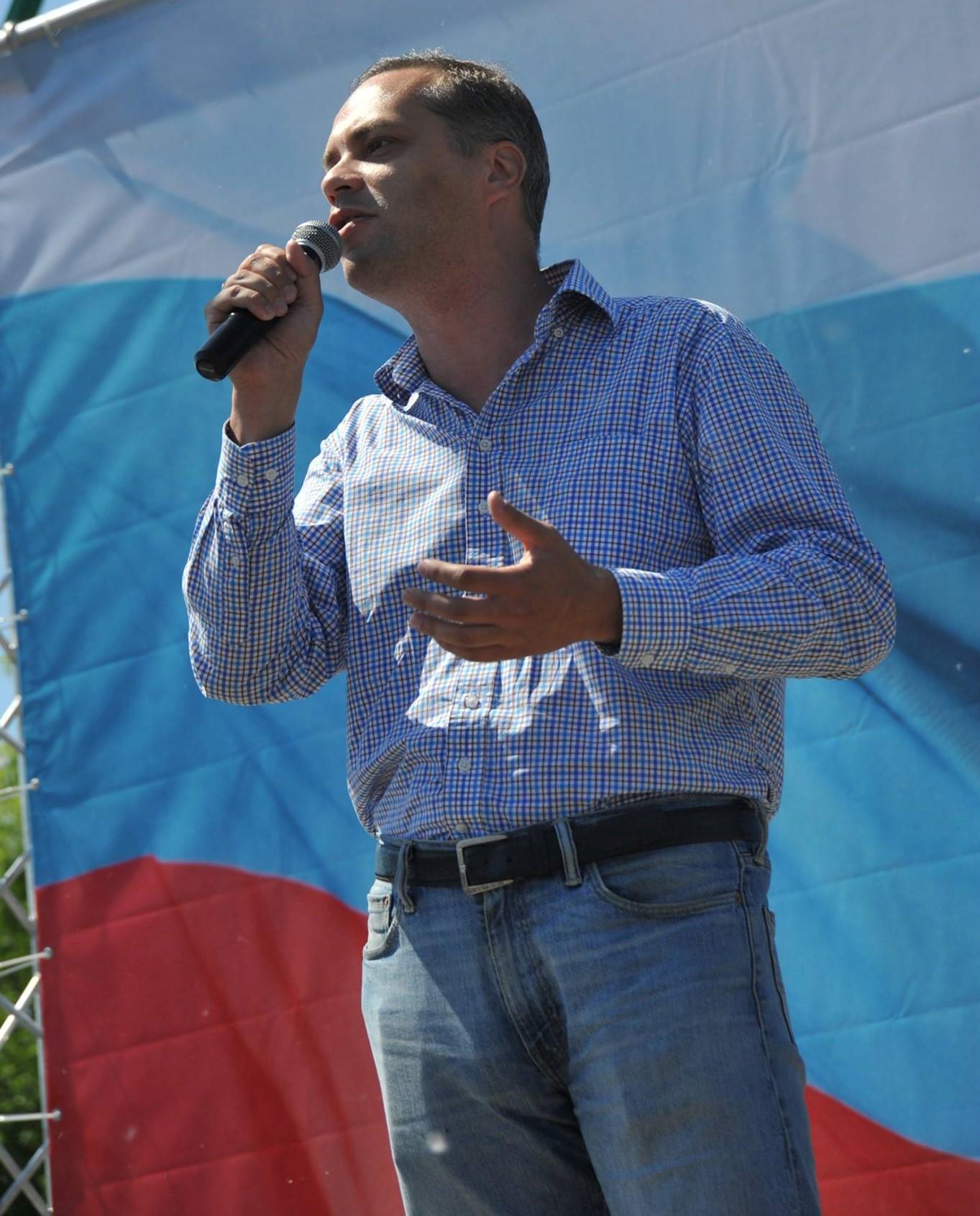 Владимир Милов митинг Челябинск