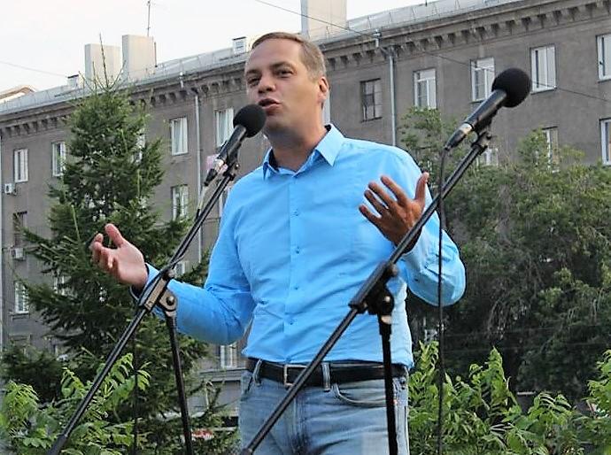 Владимир Милов митинг Новосибирск
