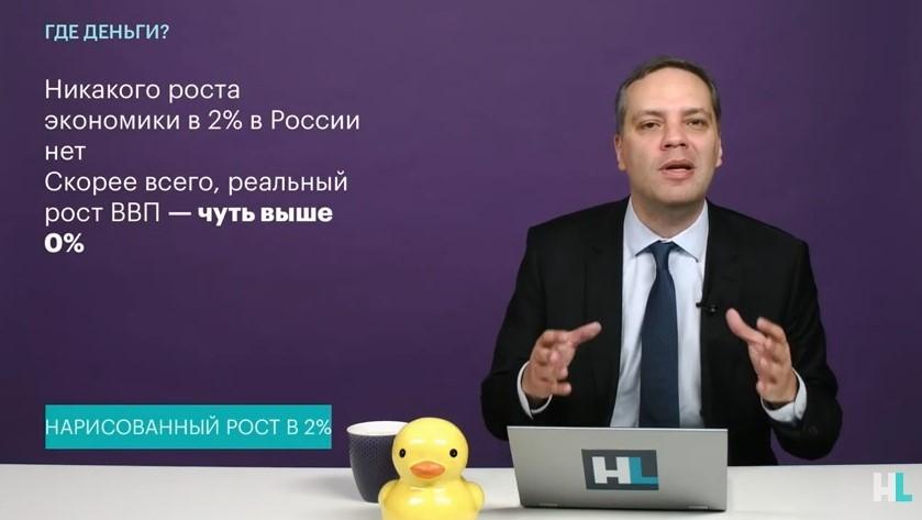 Владимир Милов рост ВВП