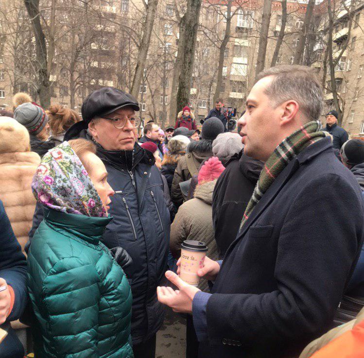 Владимир Милов Академический район ЮЗАО